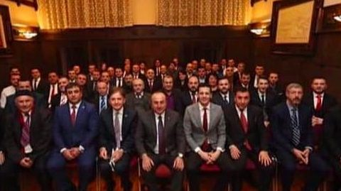 Foreign Minister Çavuşoğlu met with Turkish businessmen in Odessa