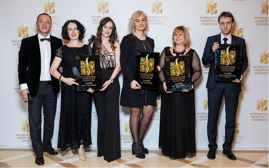 4 nominations of INTERNATIONAL HOSPITALITY AWARDS 2018 won Premier hotel chain