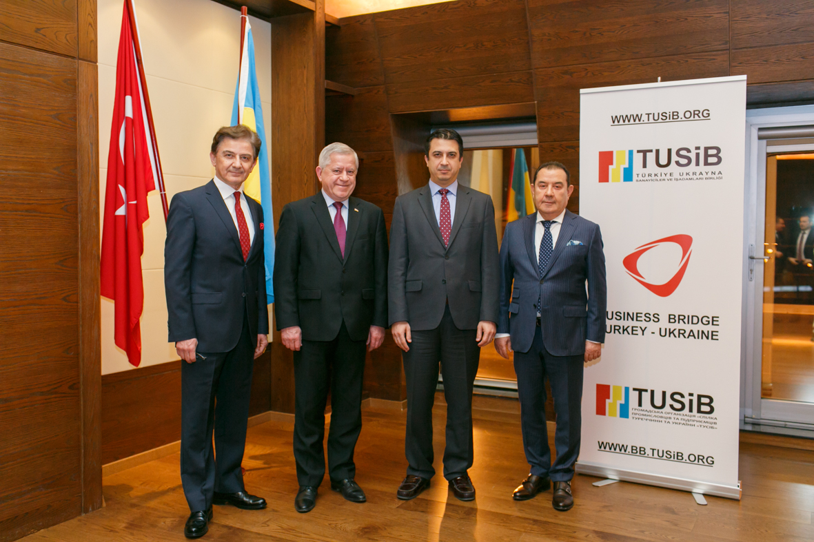 TUSIB`s Dinner in honor of the newly appointed Ambassador of the Republic of Turkey to Ukraine Yagmur Ahmet Guldere.