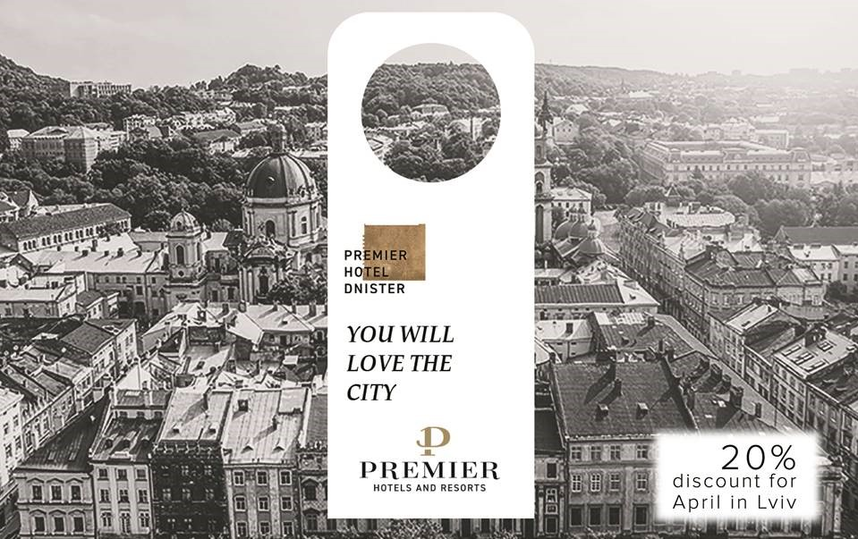 Premier Hotel Dnister gives 20% discount